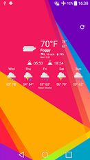 Скачать Weather Icons MTRL for Chronus на Андроид
