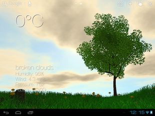 Скачать Nature Live Weather 3D LWP на Андроид