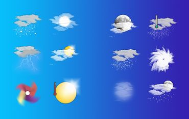 Скачать Chronus: Naxar Weather Icons на Андроид